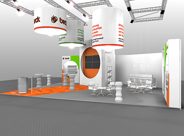 Messebau Projekt Kunststofftechnik 2