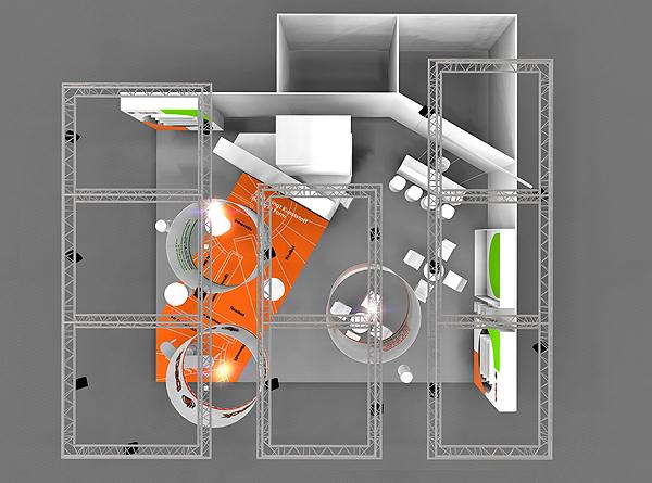 Messebau Projekt Kunststofftechnik 5