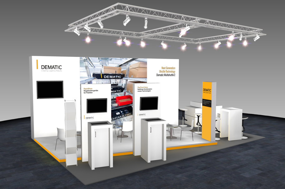 Messestand - Dematic - Pack & Move - 8