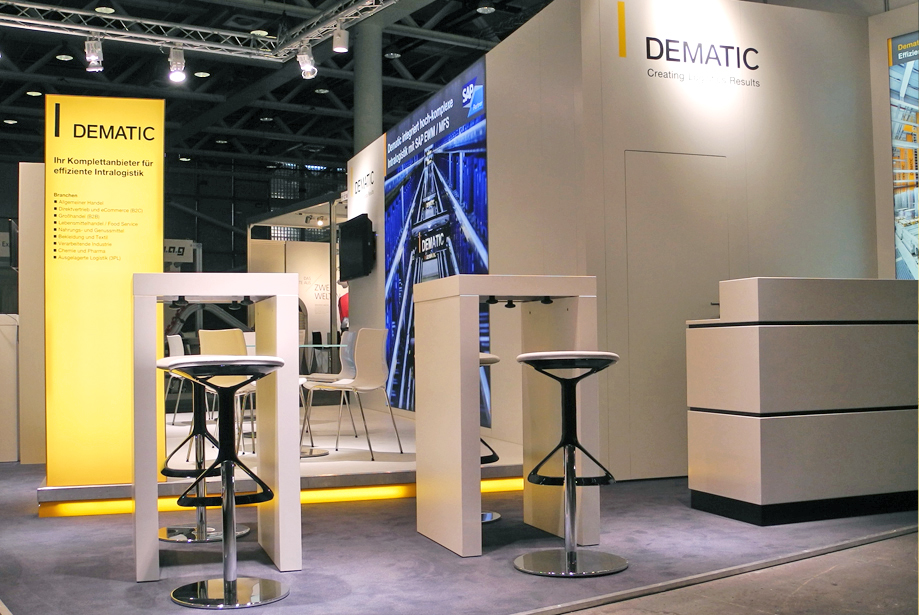 Messestand - Dematic - Pack & Move - 4