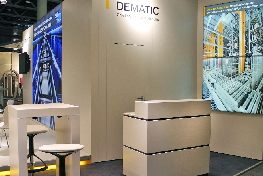 Messestand - Dematic - Pack & Move - 6