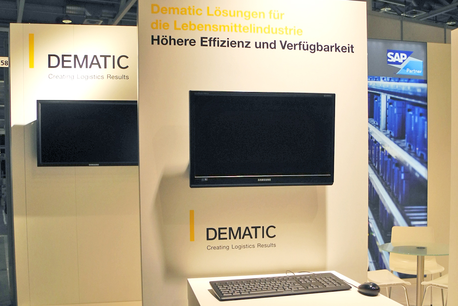 Messestand - Dematic - Pack & Move - 7