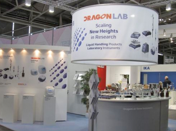 Messestand - Analytica - DragonMed - 2