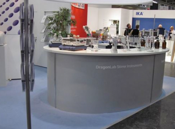 Messestand - Analytica - DragonMed - 4