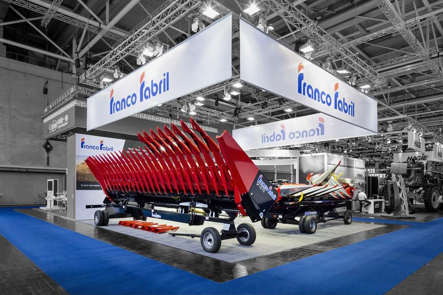 Messebau Projekt für Franco Fabril - Landmaschinentechnik - 1