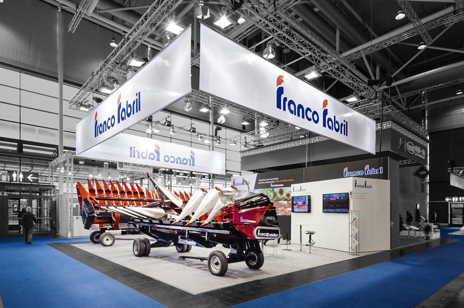 Messebau Projekt für Franco Fabril - Landmaschinentechnik - 2