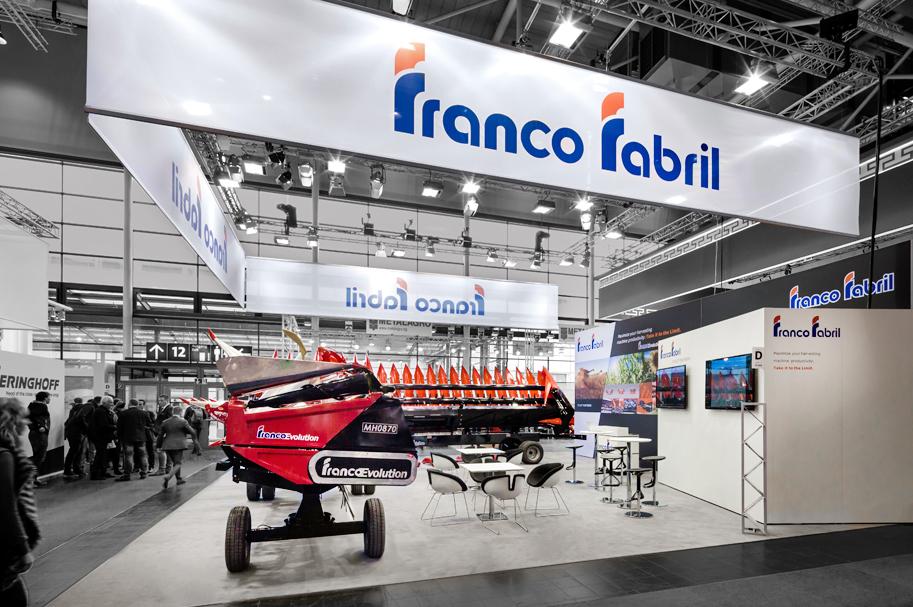 Messebau Projekt für Franco Fabril - Landmaschinentechnik - 3