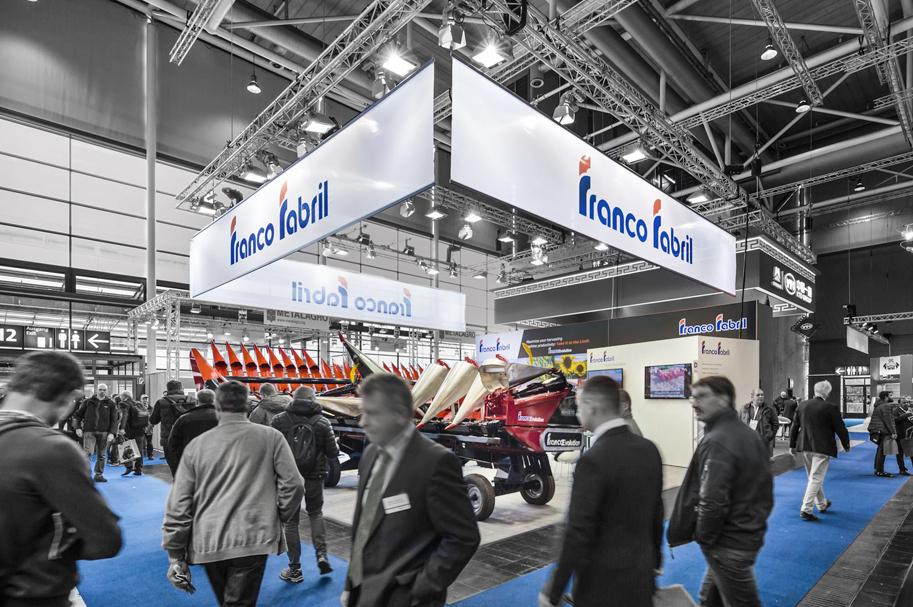 Messebau Projekt für Franco Fabril - Landmaschinentechnik - 5