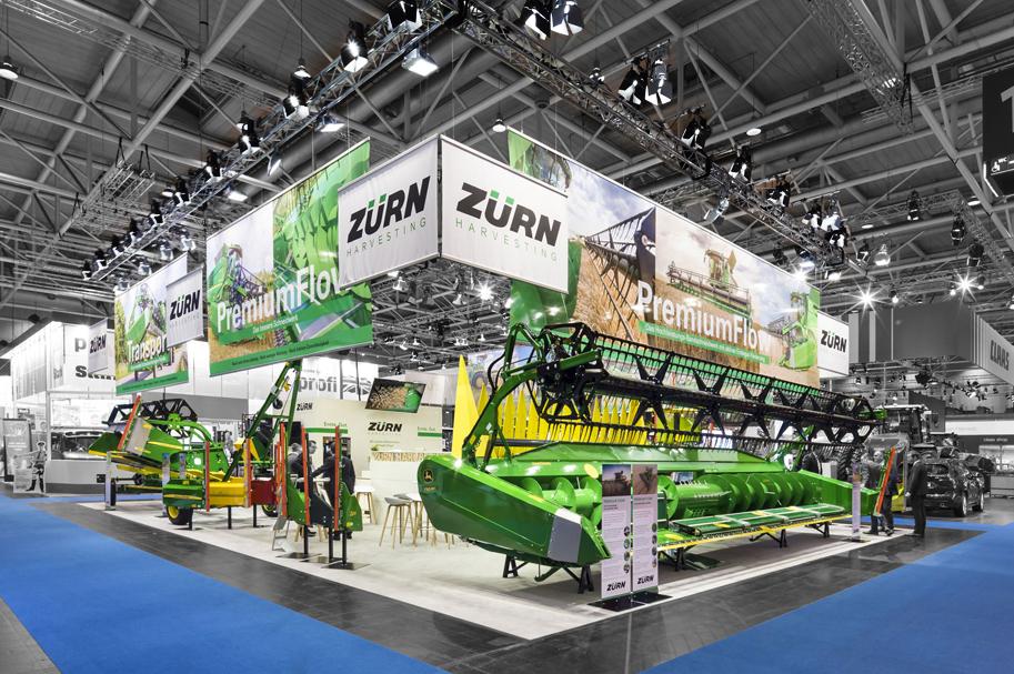 Messebau Projekt für Zürn - Landmaschinentechnik - 1