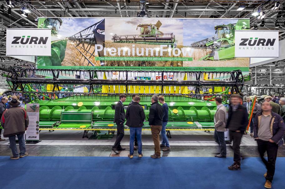 Messebau Projekt für Zürn - Landmaschinentechnik - 2