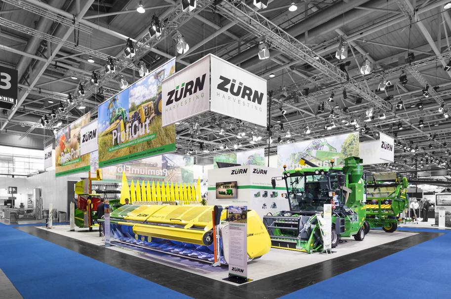 Messebau Projekt für Zürn - Landmaschinentechnik - 3