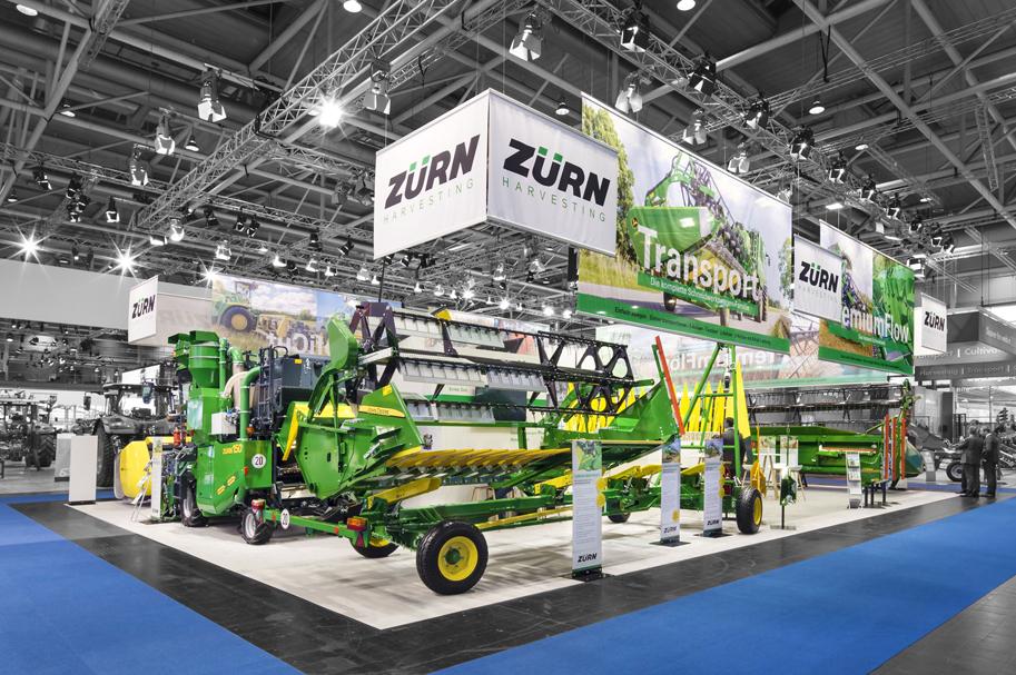 Messebau Projekt für Zürn - Landmaschinentechnik - 4