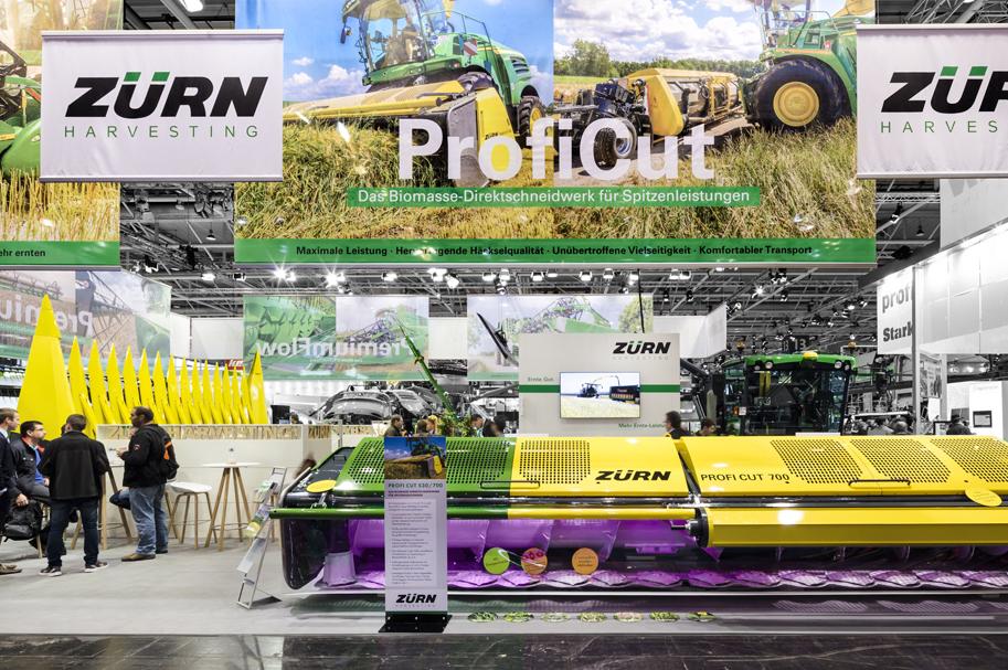 Messebau Projekt für Zürn - Landmaschinentechnik - 5
